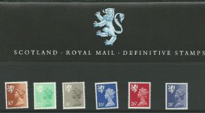 1983 Pack 2 Scotland Regional (Definitive Stamp Presentation Packs)